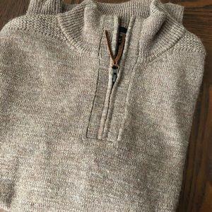 J. Crew Merino Wool Quarterzip Sweater Slim Fit